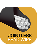 Accelera Tire Technology | Jointless Bead Wire